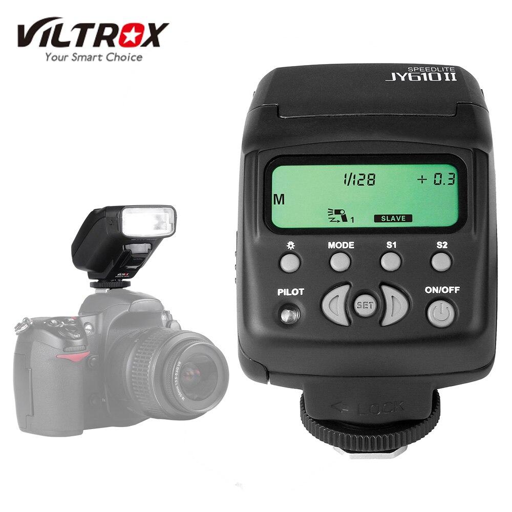 Viltrox JY-610 II JY610 II for Canon Nikon Pentax Olympus Fujifilm Panasonic DSLR Cameras Mini Universal Flash Speedlite