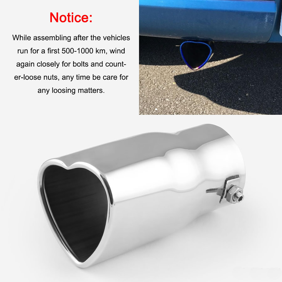 Loose tailpipes