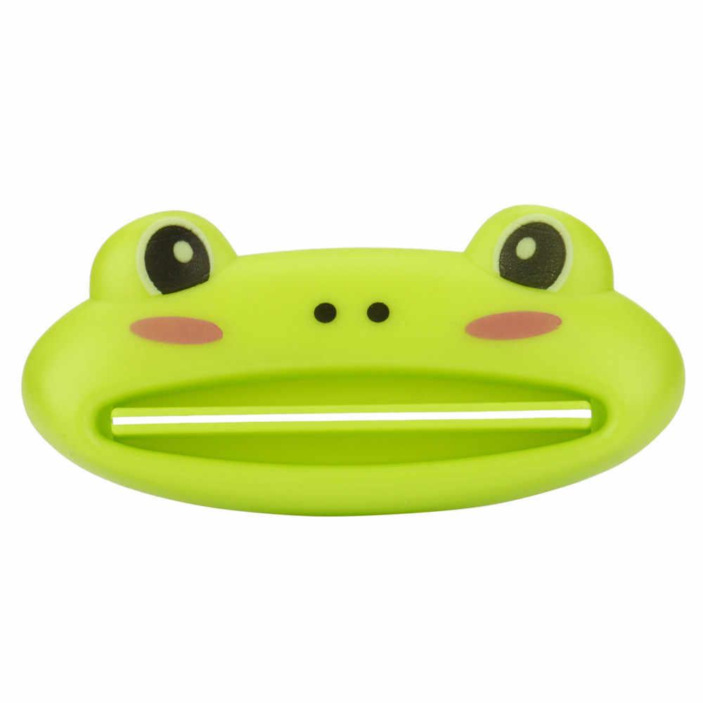 Baru Panas HOT 1 PC 9 Cm X 4 Cm Kamar Mandi Rumah Tabung Bergulir Pemegang Pemeras Mudah Kartun Dispenser Pasta Gigi