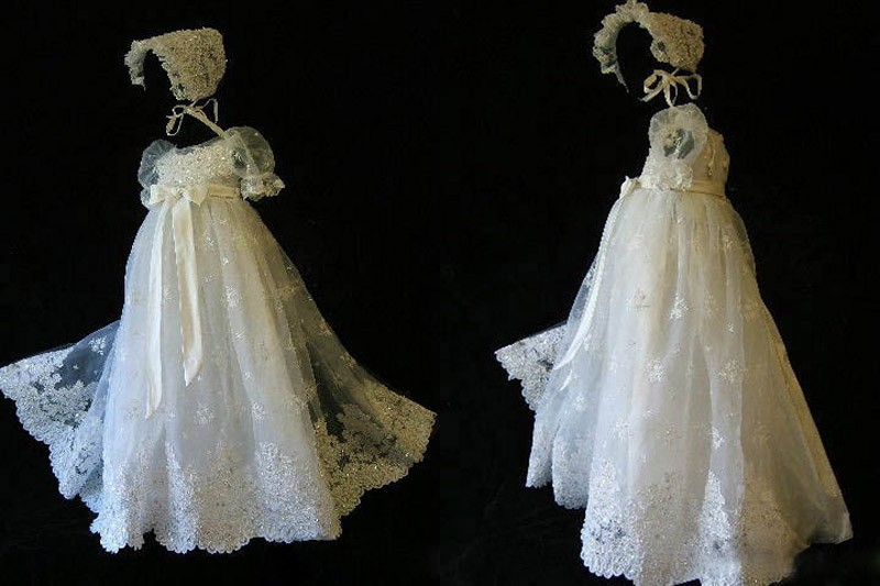 Baby Girls Christening Gown (3)