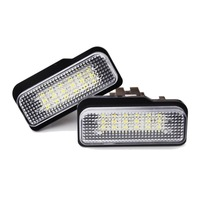 Super Bright Car Styling Error Free LED License Plate Light For Benz W211 W203 W219 R171
