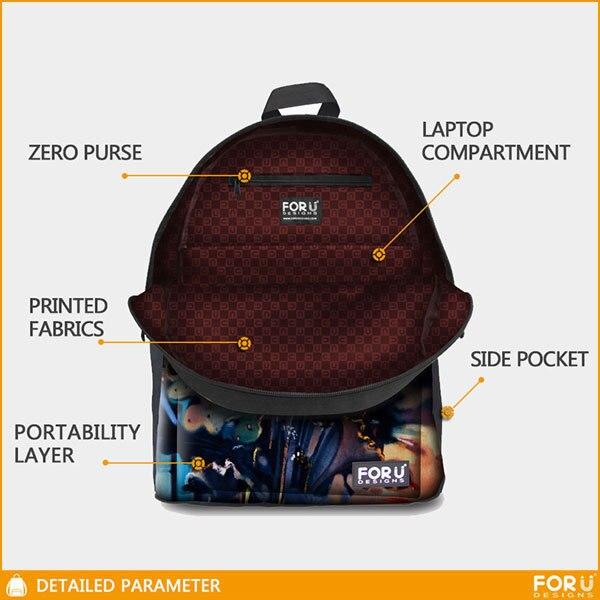 1e382171377c Stylish 3D Flower Printing Backpack for Girls Designer Teenage Floral Backpack  Casual Children Bookbag Women Travel Backbag-in Backpacks from Luggage    Bags ...