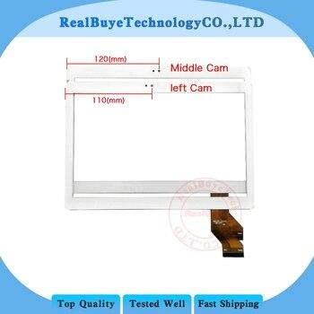 A + 10.1 بوصة MTCTP 10617 MTCTP 10617 اللوحي لوحة شاشة لمس محول الأرقام زجاج/خفف زجاج عليه طبقة غشاء رقيقة استبدال-في شاشات ولوحات LCD للأجهزة اللوحية من الكمبيوتر والمكتب على