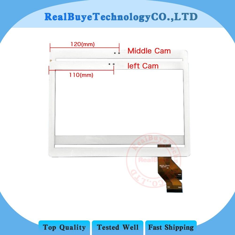 A + 10,1 pulgadas MTCTP-10617 MTCTP-10617 tablet pantalla táctil panel digitalizador de vidrio/película de vidrio templado reemplazo