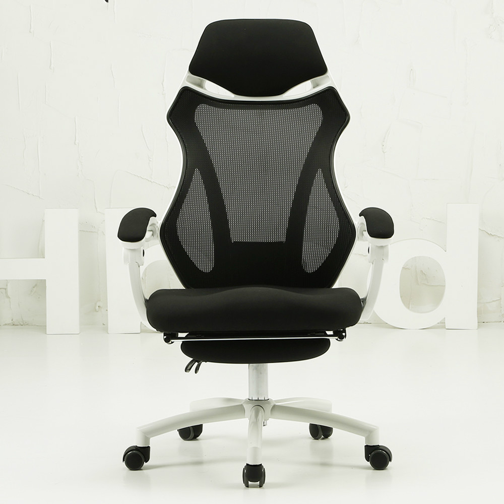 Black And White Tone Household Computer Chair Office Chair Cloth Chair  Special Offer Boss Chair Gaming Chair In Office Chairs From Furniture On ...