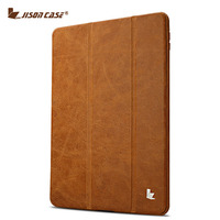 Luxury Genuine Leather Case For Apple IPad Air From Jisoncase Free Shipping