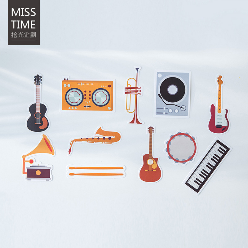 30 Pcs Lot Creative Vintage Musical Instruments Postcard Cycling Greeting Card Christmas Birthday Gift Cards In Invitations From Home