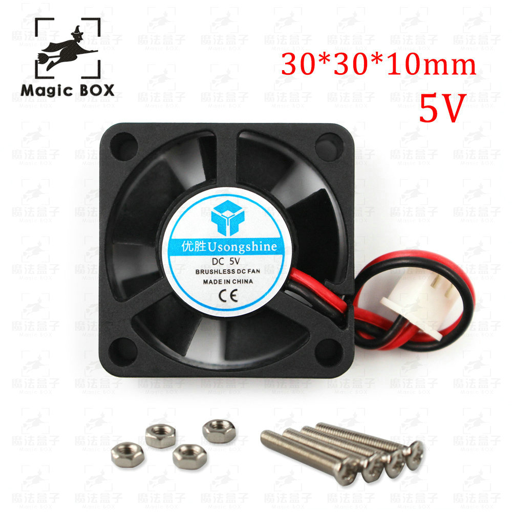 3d printer part fan 3010 2pins 30mm 30x30 x10 mm 3cm graphics card fan DC 5V / 12V / 24V 3010 2P 1pcs 3d printer fan 6015 2pins 60mm 60x60 x15 mm 6cm cooling fan graphics card fan dc 5v 12v 24v 6015 2p 1pcs