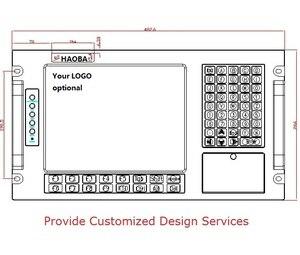 Image 3 - 6U رف جبل محطة العمل الصناعية ، E5300 وحدة المعالجة المركزية ، 2GB RAM ، 500GB HDD ، 4xPCI ، 4xISA ، رف جبل الكمبيوتر الصناعي ، OEM/ODM