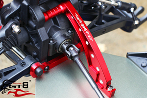 Image 5 - Aluminum Front Chassis Brace ,Rear Chassis brace ,Front Top Chassis Brace for LOSI DBXL