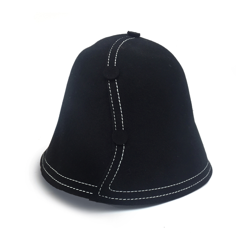 f463922c dropshipping Brand new personality wool Bucket hat women fedora hat Autumn  and Winter Trilby fashion Black hat wholesale
