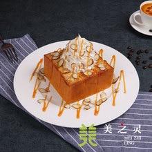 Food Model Simulation Almond Caramel Cinnamon Bread Model Bread Display Simulation Handicraft Artificial Props Ornaments Display