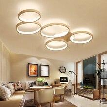 Modern Ceiling Lights Living Room Bedroom Childrens LED Light Simple Fashion Circle Lamp AC85-265V
