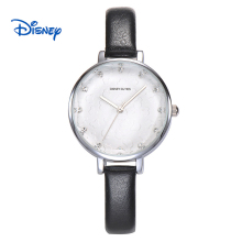 DISNEY New Fashion Brand Women Casual Quartz Watch Clock Lady Girl Diamond Analog Dress Watch Relojes