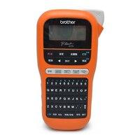 휴대용 라벨 프린터 기계 PT-E115 핸드 헬드 케이블 방수 자체 접착 프린터 케이블 라벨 프린터