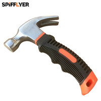 Mini Stubby Claw Hammer With Drop Forged Head And Double Colored PP TPR Handle For DIY