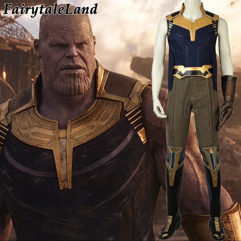 Avengers Thanos Cosplay Costume Halloween costumes Cosplay Avengers Infinity War Costume Thanos battle suit