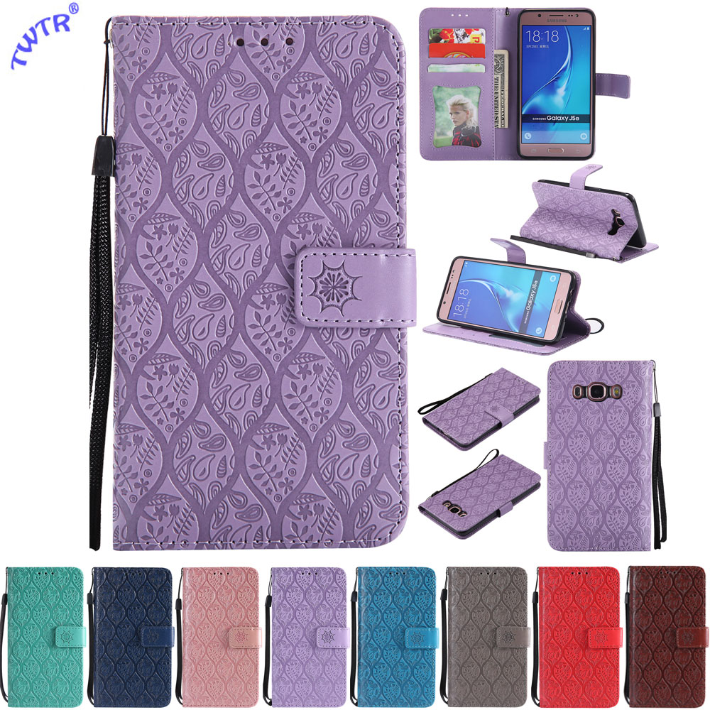 Flip SM-J510FN Case for Samsung Galaxy <font><b>J5</b></font> J 5 2016 <font><b>510</b></font> J510 J510FN SM-J510H/DS J510H/DS J510F SM-J510F Case Phone Leather Cover image