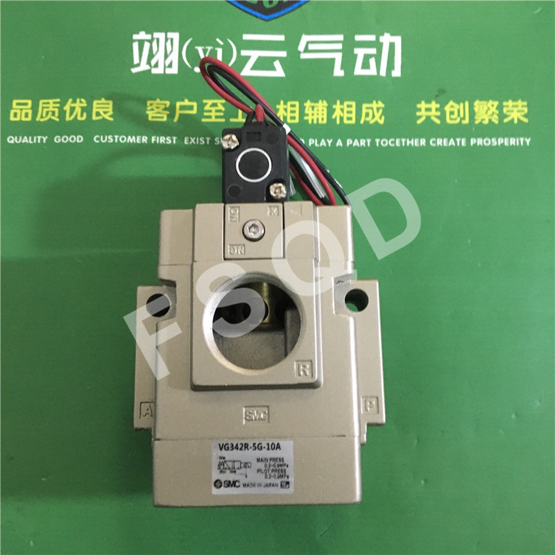 VG342-5G-06A VG342R-5G-10A VG342R-5G-06A VG342R-4G-10A SMC solenoid valve electromagnetic valve pneumatic component VG342 series dsei12 06a page 2