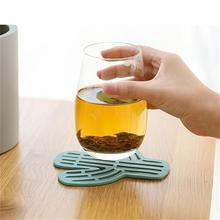 1 Pcs Creative Home Non-slip Cactus Coaster Anti-hot Tea Cup Isolated Heat Household Kitchen Multi-function Gadget New Upgrade