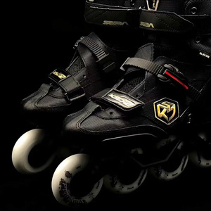 Image 4 - 100% Original 2019 SEBA KSJ2 Adult Inline Skates Roller Skating Shoes Rockered Frame Slalom Sliding FSK Patines Adulto