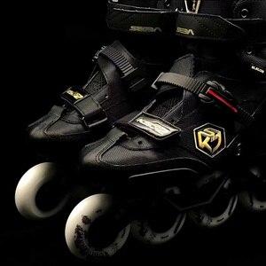 Image 4 - 100% Original 2019 SEBA KSJ2 성인 인라인 스케이트 롤러 스케이트 신발 Rockered Frame Slalom Sliding FSK Patines Adulto