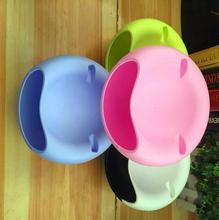 New Design Plastic Open Double Layer Candy Snacks Dry Fruit Melon Seeds Holder Storage Box Dish Tray Box Home Decor 2017 fashion