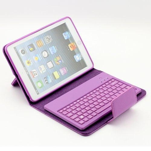 Bluetooth keyboard For ipad mini mini silicone can be split wireless Bluetooth keyboard holster keyboard