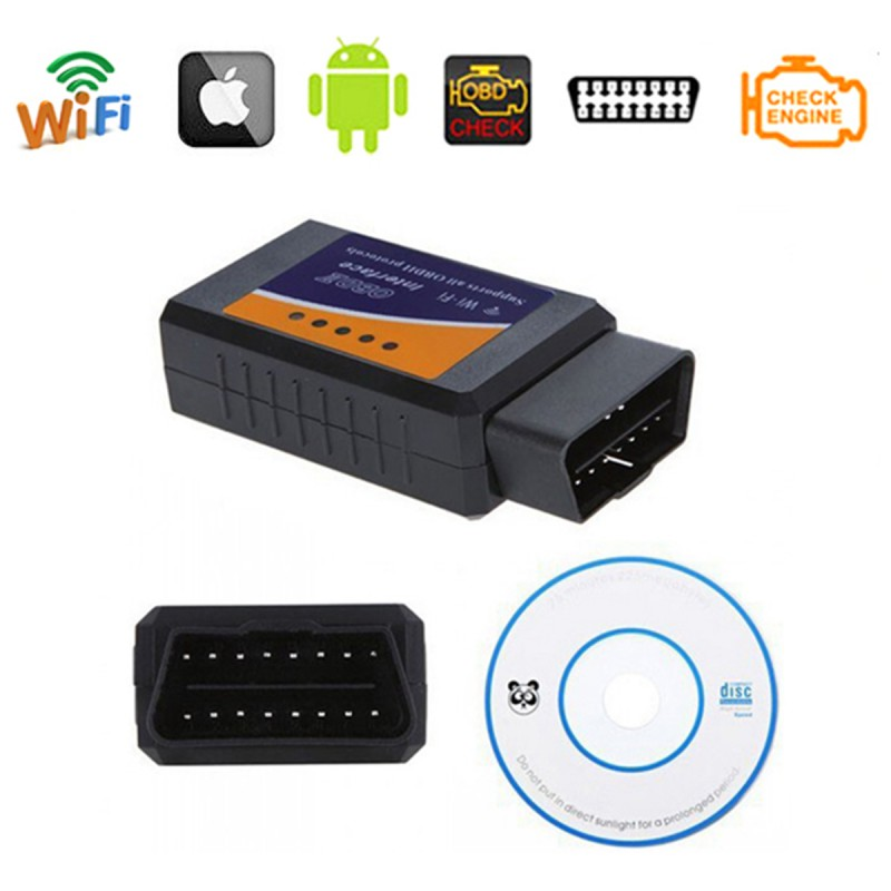 B18 WIFI ELM327 Wireless OBD2 Auto Scanner Adapter Scan Tool WIFI car detection diagnostic apparatus support IOS
