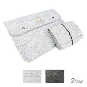 Wool Felt Laptop Bag For Macbo