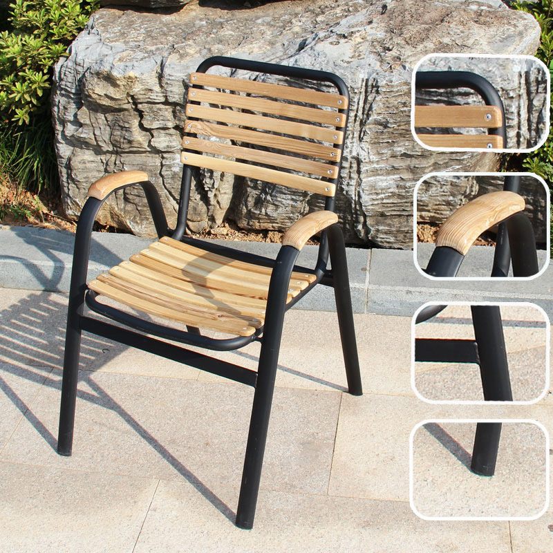 Stunning Fauteuil De Jardin Bois Et Fer Forge Contemporary - Design ...