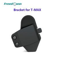 Suporte para t-max motocicleta bt bluetooth interfone fone de ouvido capacete interfone