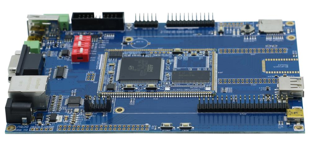 STM32F756IG backplane + core board network, USB CAN, SD, M7 kernel, with SDRAM