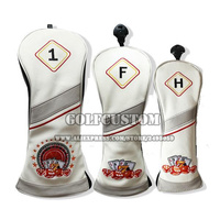 2017 Newest Embroidery Casino Golf Club Head Covers For Driver 1 3 Fairway Wood 5 Fairway
