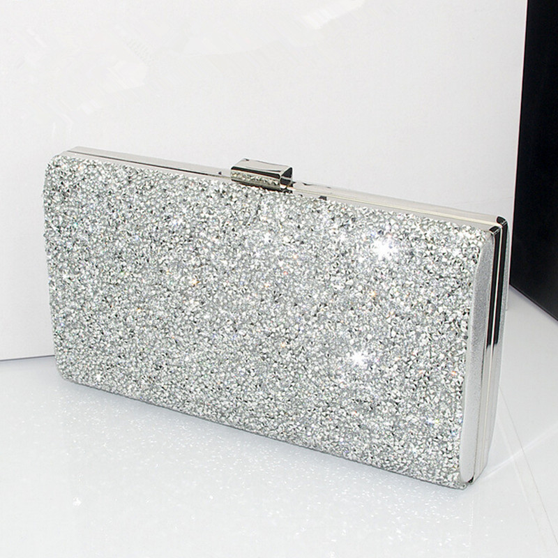 Popular Silver Box Clutch-Buy Cheap Silver Box Clutch lots from ...