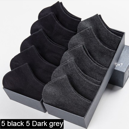 5 black 5 Dark grey