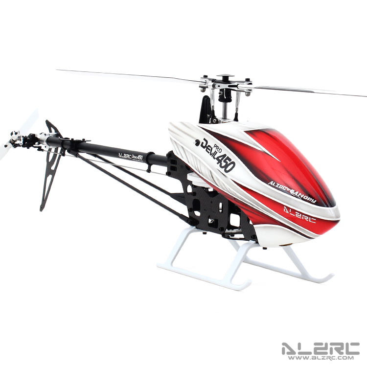 ALZRC-Devil 450 Pro V2 SDC/DFC Combo Helicopter KIT Aircraft RC Electric Helicopter Frame kit Power-driven Helicopter Drone alzrc devil 465 rigid sdc dfc combo rc helicopter kit aircraft rc electric helicopter frame kit power driven helicopter drone