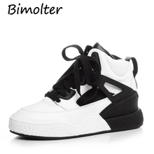 Bimolter 2019 spring new thick-soled leather shoes increase casual shoes women student shoes wild sneakers women shoes NC089 areqw spring within the increase women s shoes fashion shoes wild students single shoes color travel racing shoes women