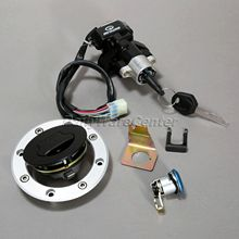 цена на Motorcycle Ignition Key Switch Lock+ Fuel Gas Cap+ Keys for Suzuki SV650 99-02 Vstorm 1000 DL1000 02-09 Pit Bike Motorbike Parts