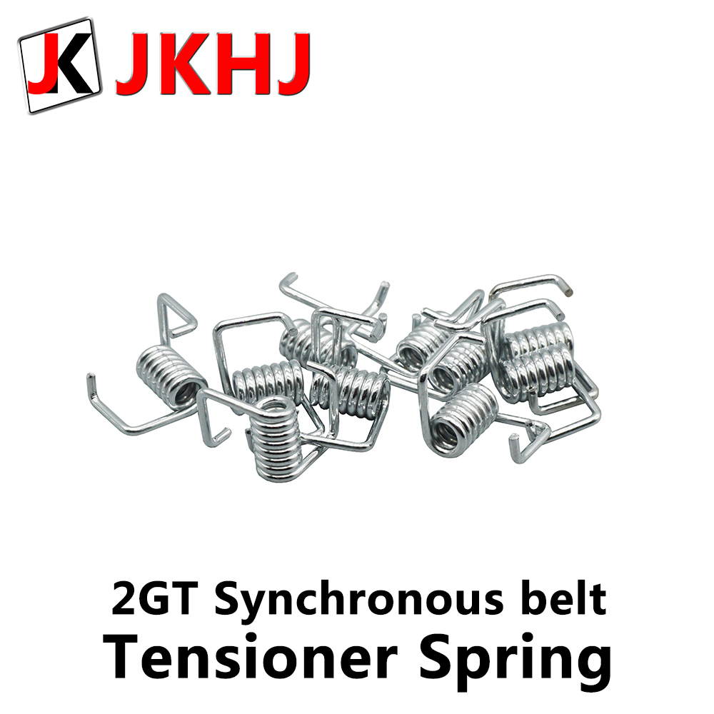 10pcs 2gt Synchronous Belt Tensioner Spring 6mm GT2 Synchronous Belt Torsion Spring 3D Printer Part Draw Spring