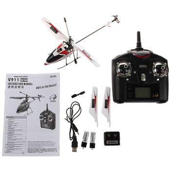 Wltoys Outdoor V911 4CH 2.4GH Single Propeller Mini Radio RC Helicopter Gyro RTF