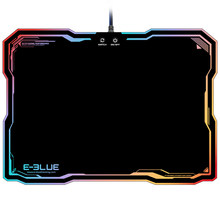 LED Lighting USB Wired Hard Large Size Gaming Mouse Pad Dazzle RGB Colorful Backlight Game Mice Mat with Intelligent Switch(China)