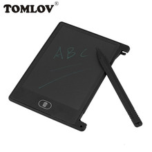 TOMLOV 4.4inch Mini Writing Tablet Digital LCD Drawing Notepad Handwriting Tablet Pad high accuracy nema 34 planetary stepper motor 80 mm motor length nema34 motor step ratio 15 20 25 50 100 1