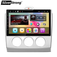 SilverStrong Android8.1 T8 OctaCore IPS 10.1'' Radio Car DVD For Ford FOCUS1 For FOCUS2 With 32GB ROM Radio option 7.1