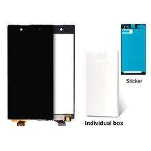 10 шт. телефон PANTALLA для Sony Xperia Z5 Дисплей черный, белый цвет Экран сборки E6603 E6653 E6683 E6633 смартфон заменяемой