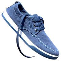 Denim Canvas Shoes 2016 Fashion Casual Men Shoes Grey Blue Walking Mens Shoes Trainers Zapatillas Deportivas