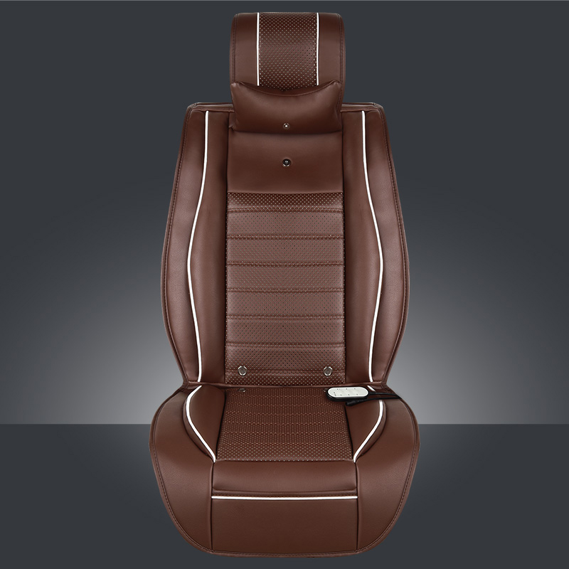 Heating Massage Cold Three-In-One Multi-Functional Cushion Smart Ventilation Car Seat Cover Silent Fan