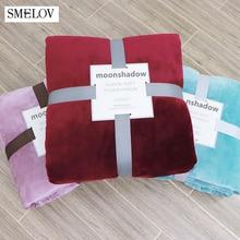 Soft warm flannel coral fleece blanket kid Children Blanket Towel winter summmer office air conditioning room nap Travel