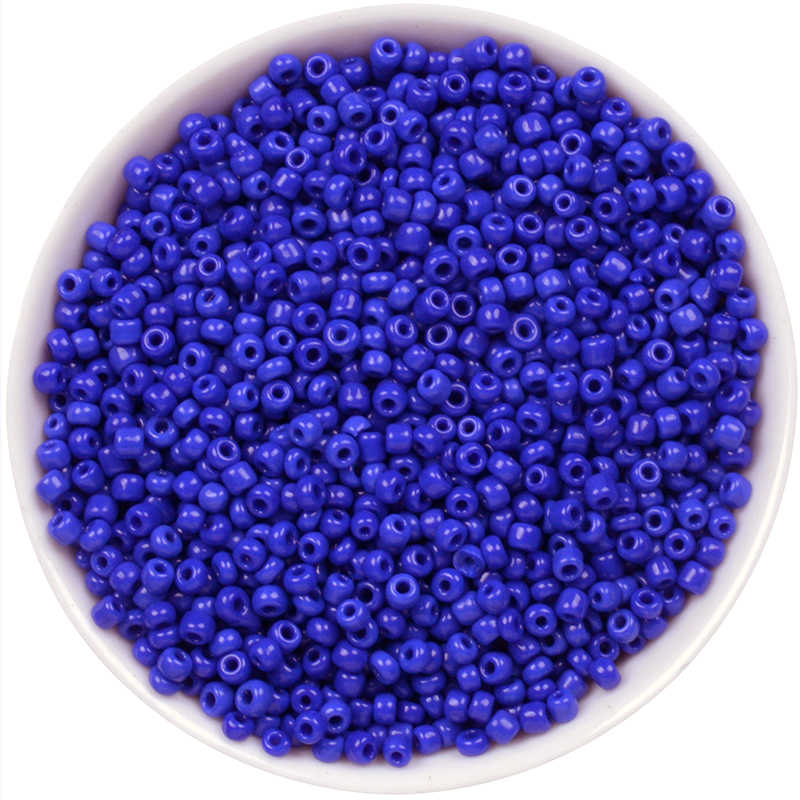 Royal Blue Colori Seed Beads DIY Allentato Spacer Mini Vetro Conteria Ceche Perle Oro 2mm 1000 pz/lotto