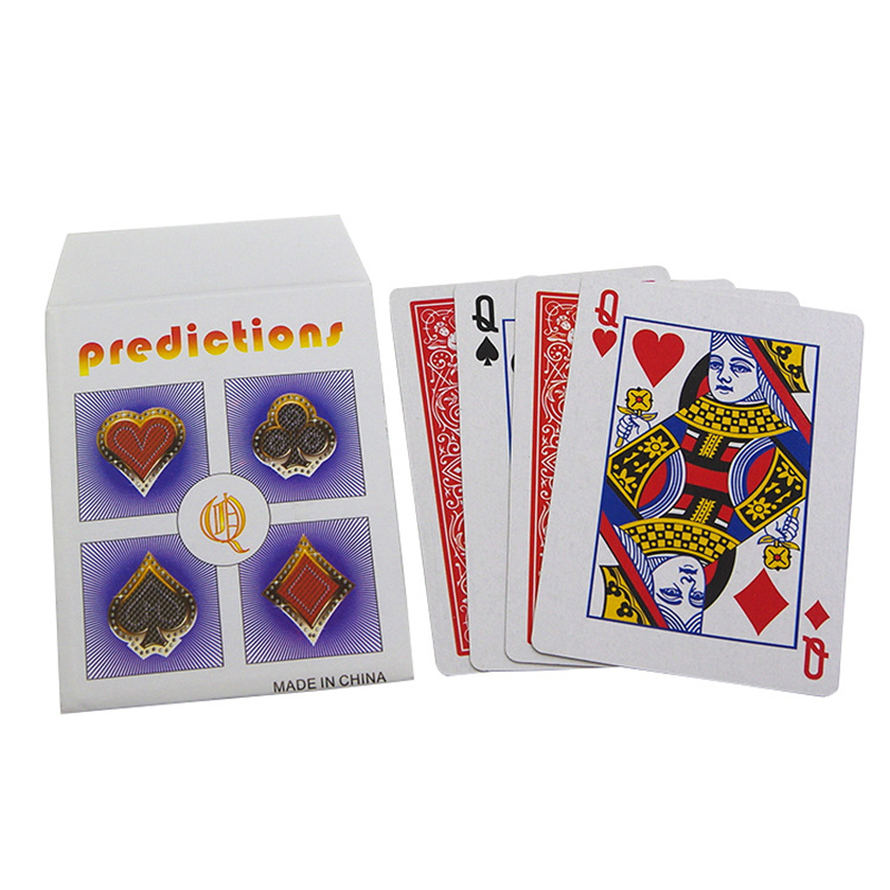 Parade Of The Queens Explained Magic Tricks Card 4Q Prediction Magia Magician Close Up Illusion Gimmick Props Toys For Children